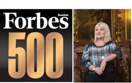 Top 500 Forbes Romania: Anca Vlad – locul 10