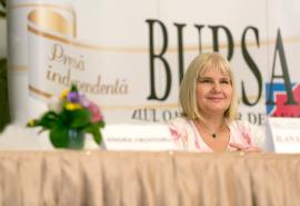 """Anca Vlad Anca Vlad la conferinta """"Bursa"""": Deciziile femeilor antreprenor se bazeaza atat pe intuitie, cat si pe ratiune"""