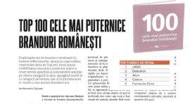 Catena – brandul farma nr. 1 in Top 100 branduri romanesti