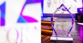 Anca Vlad Anca Vlad, președinta Fildas-Catena, distinsă cu Trofeul pentru Susținerea Conferinței de Educație Timpurie, la Gala Acorns